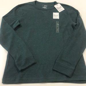 🆕 SONOMA Green Thermal Shirt Mens Large
